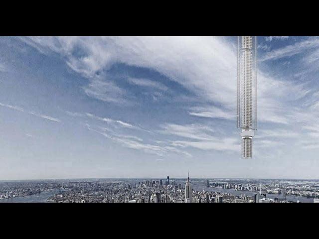 El Primer Rascacielos Diseñado Para Ser Suspendido de un Asteroide