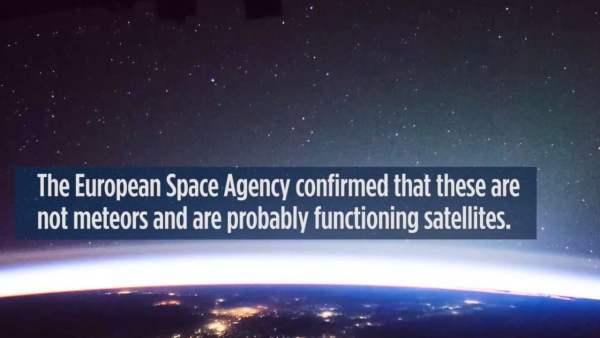 Rayos y objetos misteriosos son captados desde la Estación Espacial Internacional