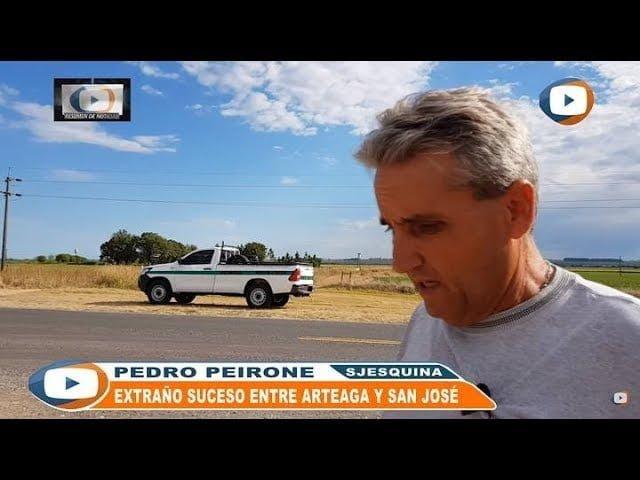 Extraño suceso paranormal en la Ruta 92 (Santa Fe, Argentina)