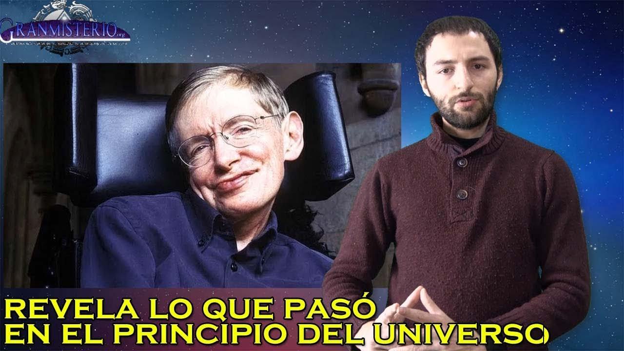 Stephen Hawking dice conocer lo que había antes del Universo