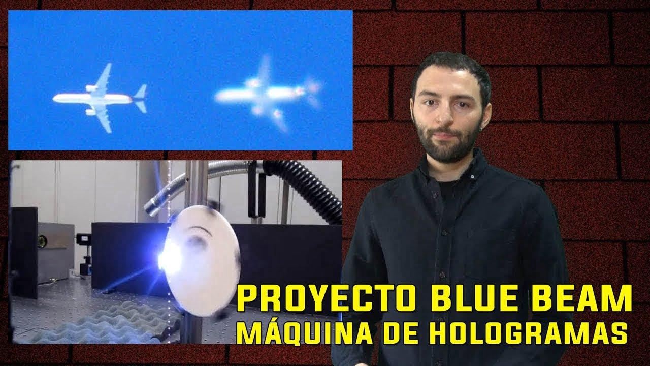 Inventan una MÁQUINA para crear Hologramas que HABLAN en el cielo - Proyecto Blue Beam