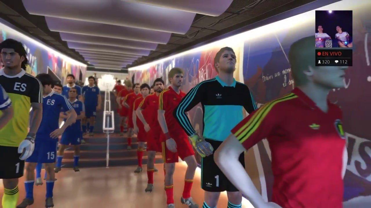 1ª jornada del mundial de Retrofútbol de Iker