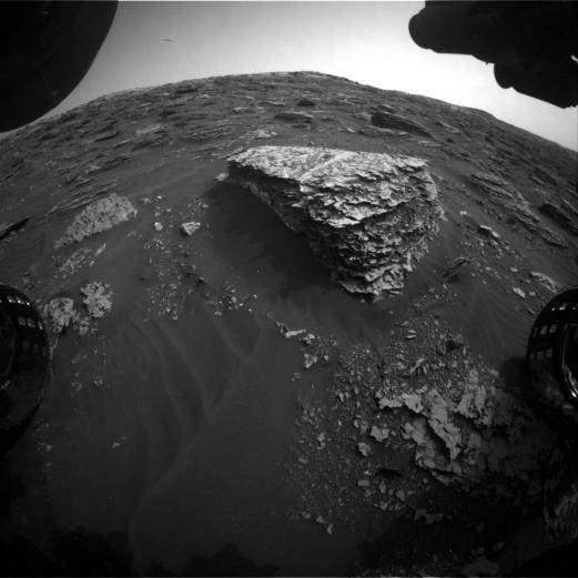 Forma de vida extraterrestre grabada en la Rover Cam de la NASA, 13 de junio de 2018