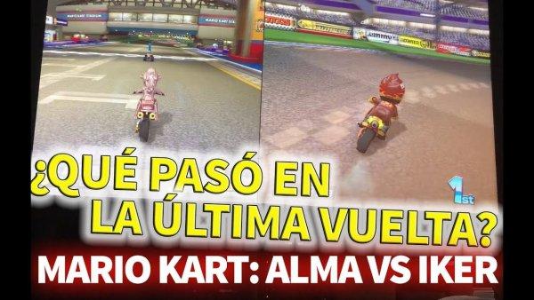¿Qué pasó en la última vuelta? Mario Kart: Alma vs Iker