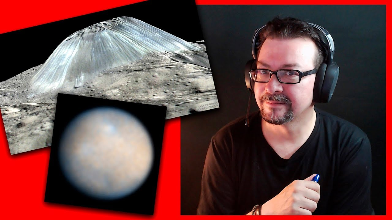 Nuevas Anomalías en Ceres y Marte