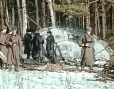 OVNI circular verde visto en la Unión Soviética