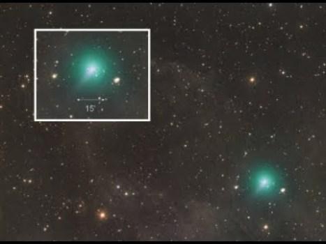 Después de 4.400 años, el antiguo cometa Atlas llega de nuevo, algo de qué preocuparse