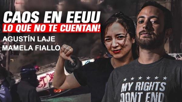 CAOS EN EE.UU.: lo que no te cuentan | Agustín Laje y Mamela Fiallo