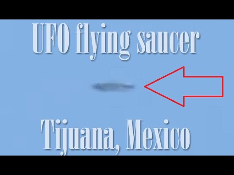 Platillo volador filmado en Tijuana, México (3 junio 2020)