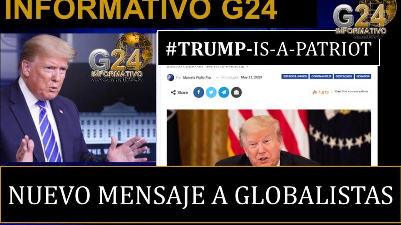 TRUMP ENVÍA nuevo mensaje a los GLOBALISTAS y GRUPO DE PUEBLA se reúne para qué? Hoy Herbin Hoyos