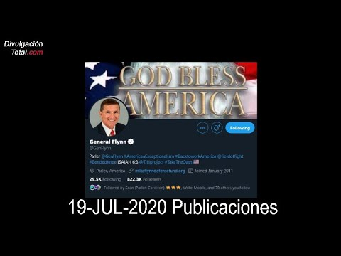 19-JUL-2020 Publicaciones – El General Flynn.
