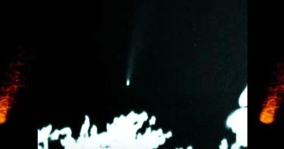 Cometa Neowise Live Infrarrojo Misterioso Rayo de luz y OVNI diurno