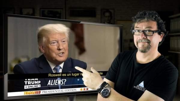 👽 Donald Trump Habla sobre los ALIEN y Roswell