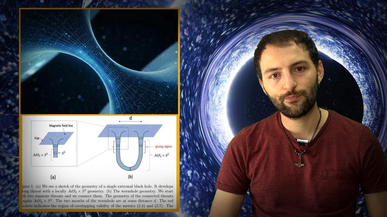 Descubren como CREAR agujeros de Gusano estables conectado DOS UNIVERSOS