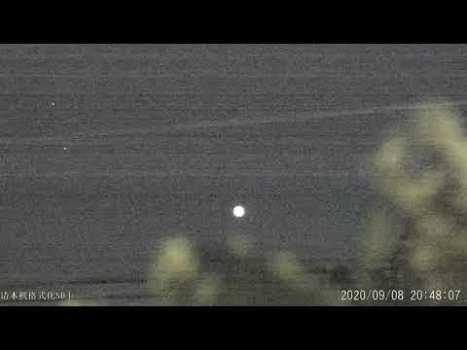 Gran OVNI / ORBE sobre Odessa, Ucrania 8 de septiembre de 2020
