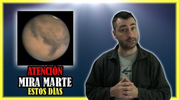 Mira Marte Estos Días, Pues NO Volverá a BRILLAR Así en 15 Años
