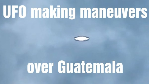 OVNI filmado en Guatemala 26-Oct-2020