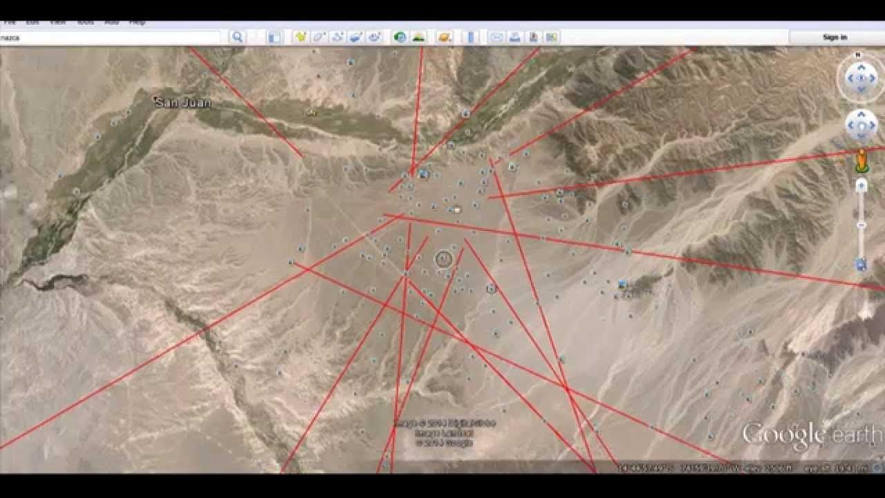 Vea qué sucede si las líneas de Nazca se extienden por todo el planeta