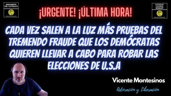¡CADA VEZ MÁS PRUEBAS DEL FRAUDE QUE LOS DEMÓCRATAS QUIEREN HACER PARA ROBAR LAS ELECCIONES DE USA!