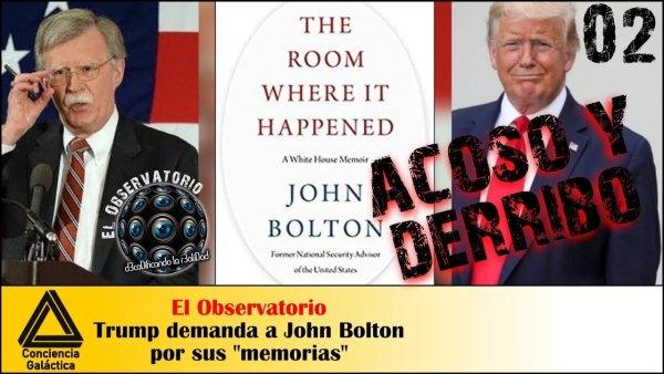 Donald Trump DEMANDA a John Bolton por REVELAR SECRETOS DE ESTADO: vuelve el fantasma de Ucrania