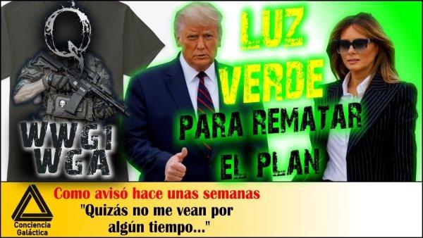Donald Trump y Melania en Cuarentena: todo acorde al Plan