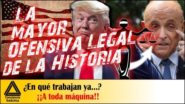 La MAYOR OFENSIVA LEGAL de los EEUU: Elecciones USA
