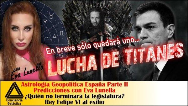 Lucha de Titanes ¿Quién caerá antes de fin de año? ¿Pedro o Pablo?: Predicciones Eva Lunella II