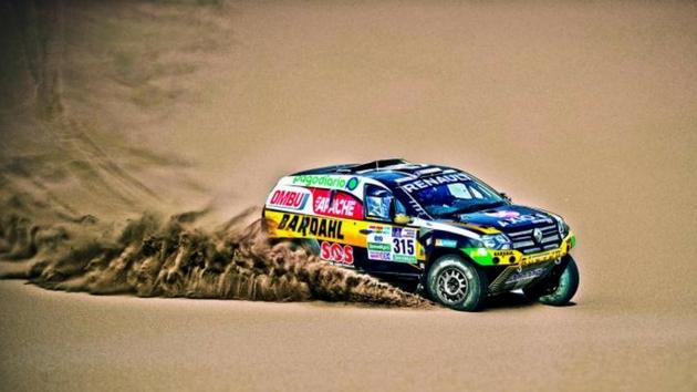 Renault Sport Rally Dakar 2018