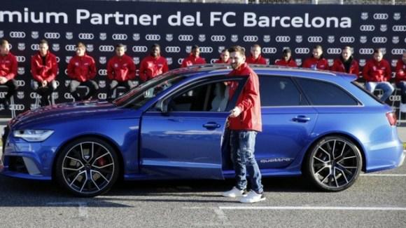 Audi Messi Barcelona