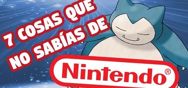 7 cosas que no sabías de Nintendo