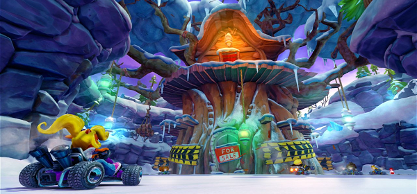 Primeras capturas de Crash Team Racing Nitro-Fueled en Nintendo Switch