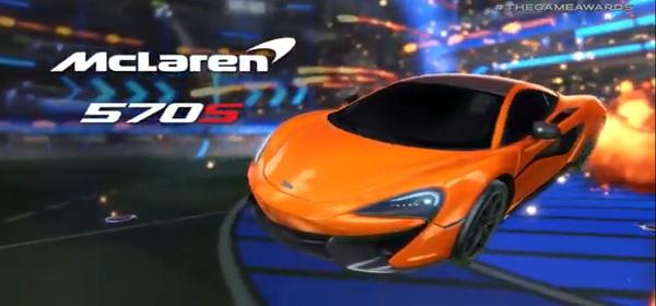 McLaren 570S Car Pack llega a Rocket League