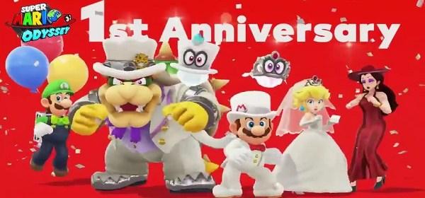 Super Mario Odyssey cumple su primer aniversario