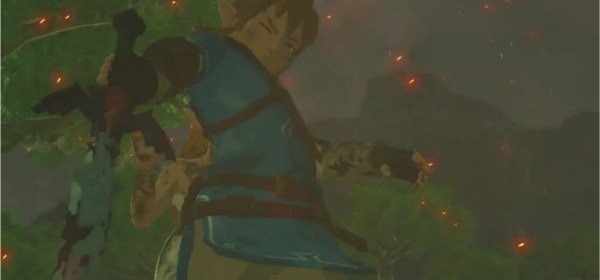 Teaser tráiler de Breath of the Wild para Europa.