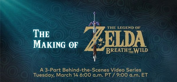 Cómo se creo The Legend of Zelda Breath of the Wild