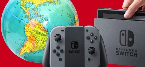 nintendo switch region free Mundo N