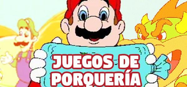 Los peores juegos de Mario