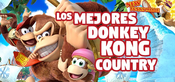Top 5 mejores Donkey Kong Country - Mundo N