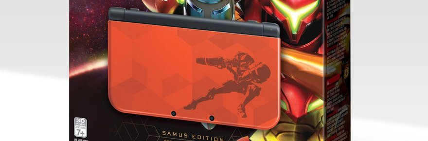 New Nintendo 3DS XL versión Samus Returns