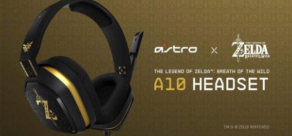 Audífonos Astro A10 Headset con motivo de The Legend of Zelda Breath of the Wild