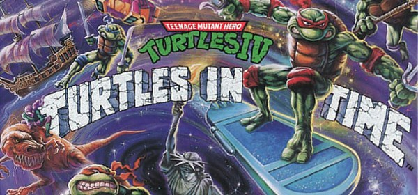 Teenage Mutant Ninja Turtles IV: Turtles in Time. TMNT 4