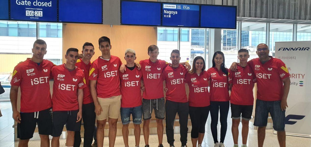 El tenis de mesa español regresa a Japón para preparar sus próximas citas internacionales