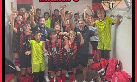 victoria y liderato en 2ª y 3ª Andaluza Infantil para Apedem y La Carlota