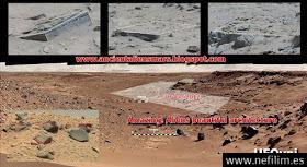 ¿Hallada en Marte vestigios de una hermosa e increíble arquitectura?