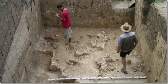 Los restos hallados podrían pertenecer a uno de los primeros europeos, un hombre que vivió hace 36.000 años en Kostenki, al oeste de Rusia