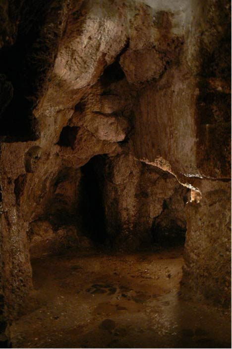 Cámaras misteriosos en la Cividale Hipogeo