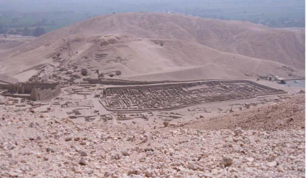 El antiguo pueblo de Deir el-Medina tenía un complejo sistema de atención sanitaria y social