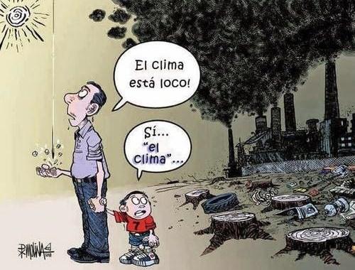 Porque el clima está cambiando