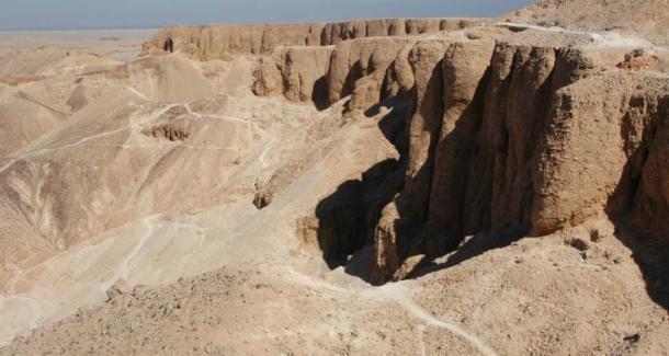 """Los trabajadores de Deir el-Medina trabajaron en el mundialmente famoso """"Valle de los Reyes"""""""