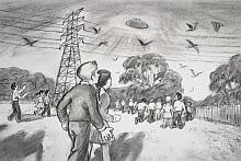 Westall UFO 1966 - El aterrizaje ovni presenciado por más de 200 estudiantes en #Westall, Australia